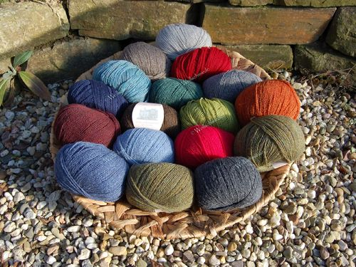 Monika Design Yarns Scotland Highlands Wool